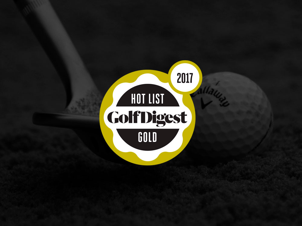 Callaway MD3 Milled Chrome Wedges 2017 Golf Digest Hot List Badge