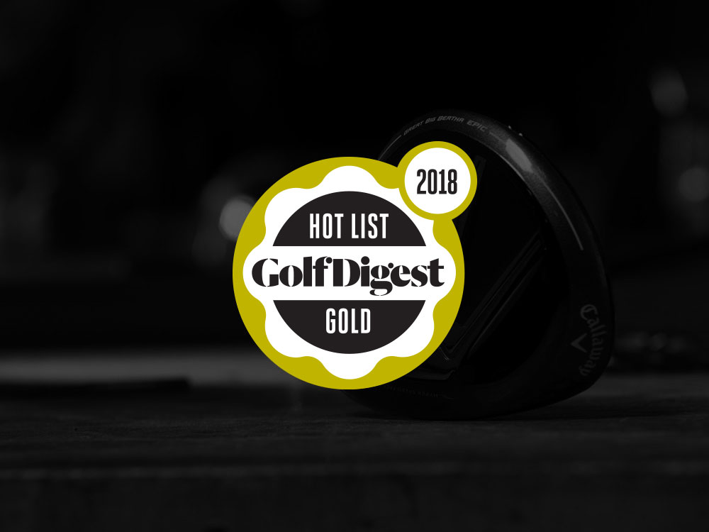 Callaway GBB Epic Fairway Wood 2017 Golf Digest Hot List Badge
