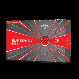 Superhot Bold Matte Red 15-Pack Golf Balls