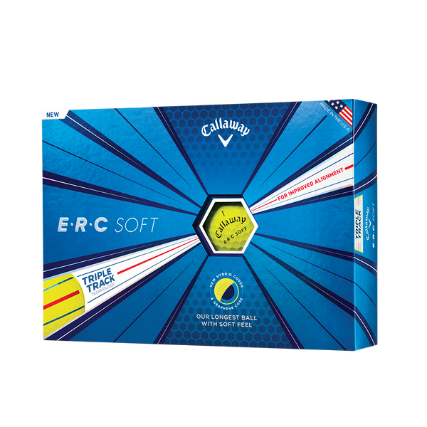 ERC Soft Yellow Golf Balls Technology Item