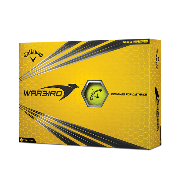 Warbird Yellow Golf Balls Technology Item