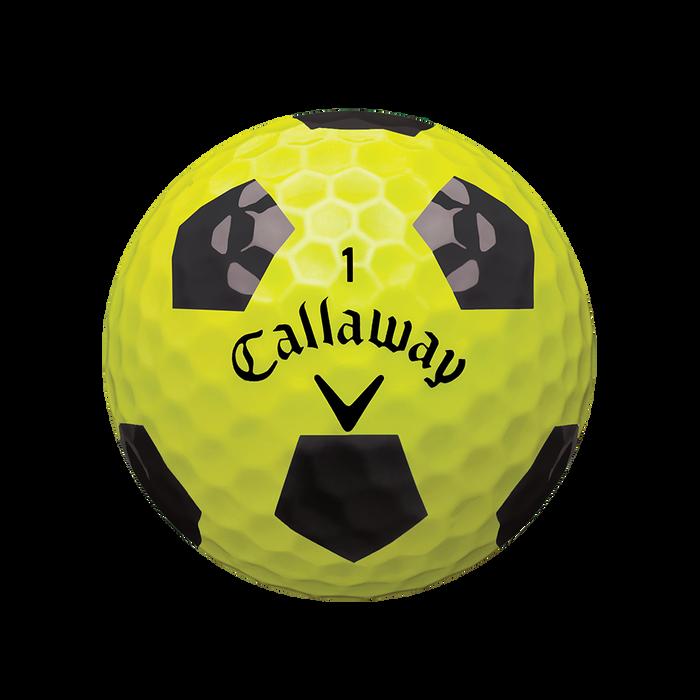 Chrome Soft X Truvis Yellow Golf Balls