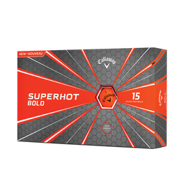 Superhot Bold Matte Orange 15-Pack Golf Balls