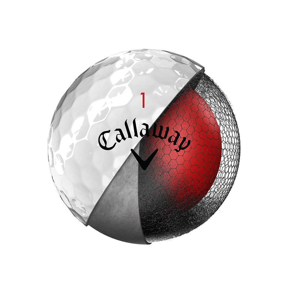 Chrome Soft 18 Golf Balls - View 3