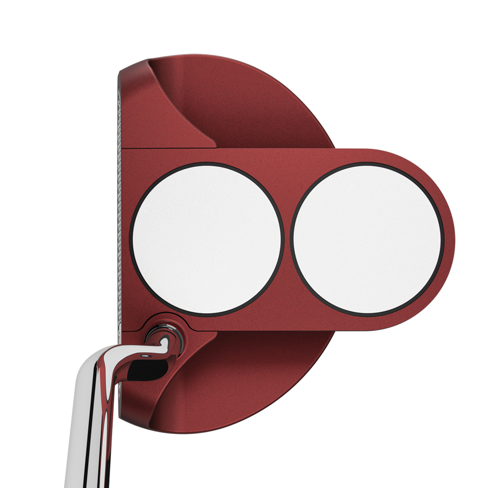 Odyssey O-Works Red 2-Ball Putter - View 4