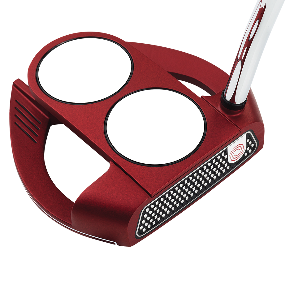 Odyssey O-Works Red 2-Ball Fang Putter - View 1