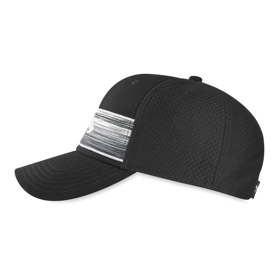 Stripe Mesh Adjustable Cap - View 5