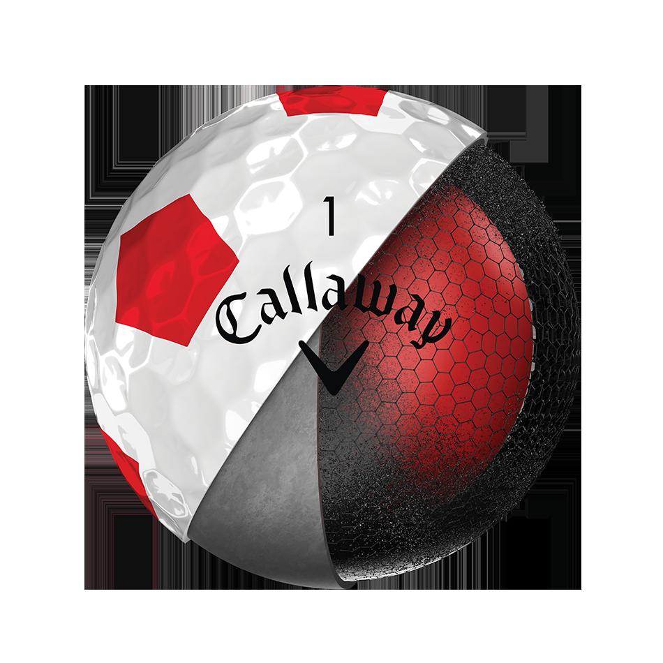 Chrome Soft Truvis Red 2018 Golf Balls - View 3