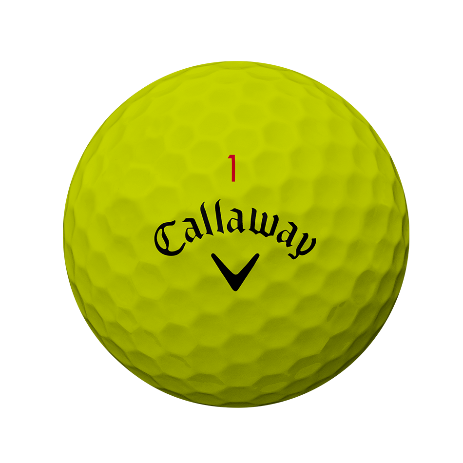 Chrome Soft Yellow 2018 Golf Balls - View 2