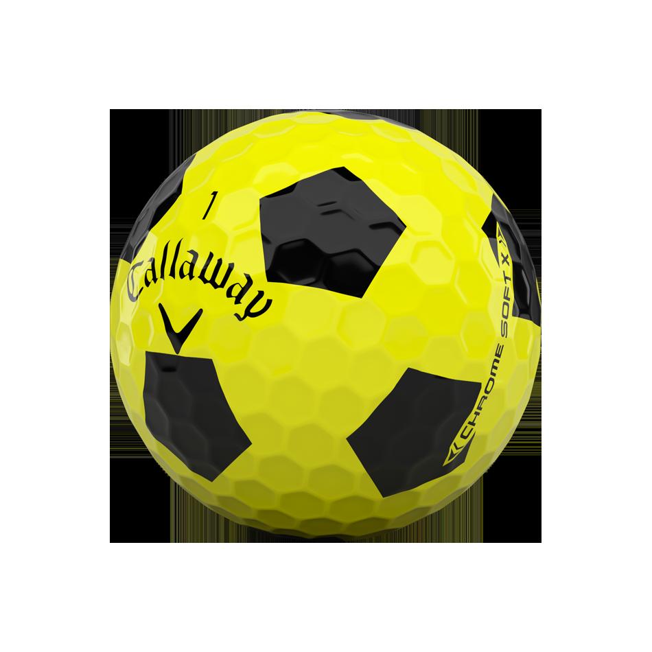 Chrome Soft X Truvis Yellow Golf Balls - View 4