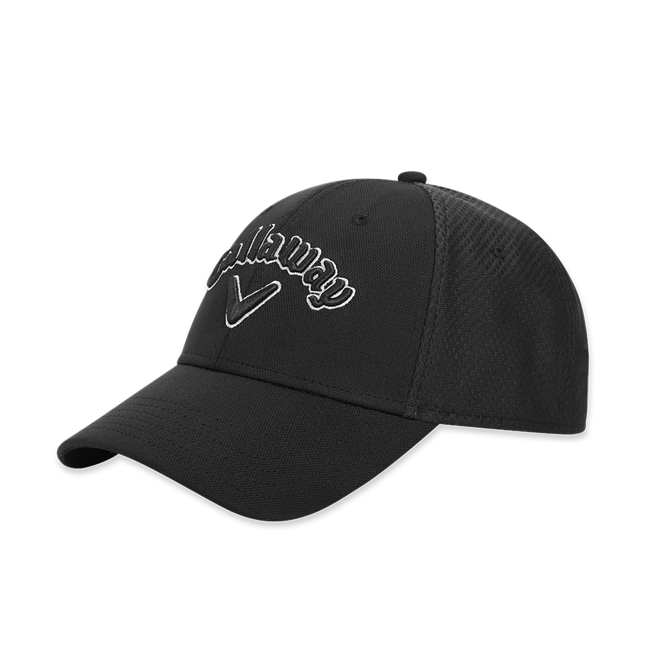 Mesh Fitted Cap - View 1