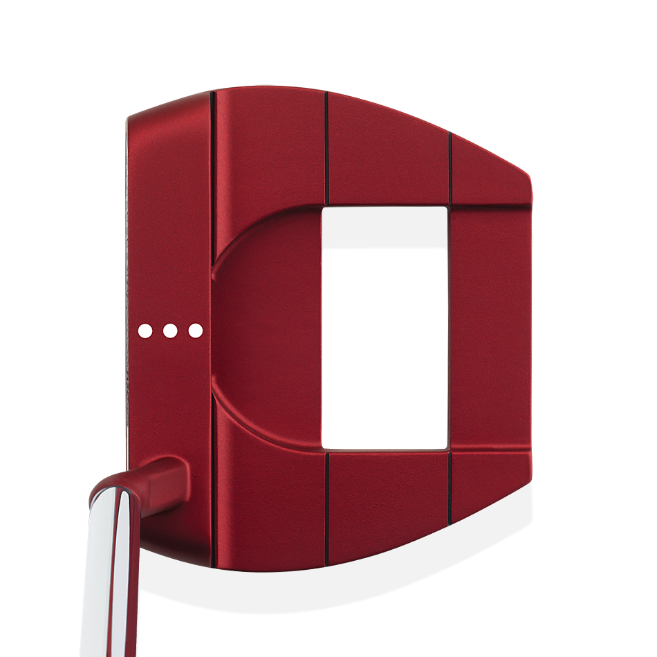 Odyssey O-Works Red Jailbird Mini S Putter - Featured