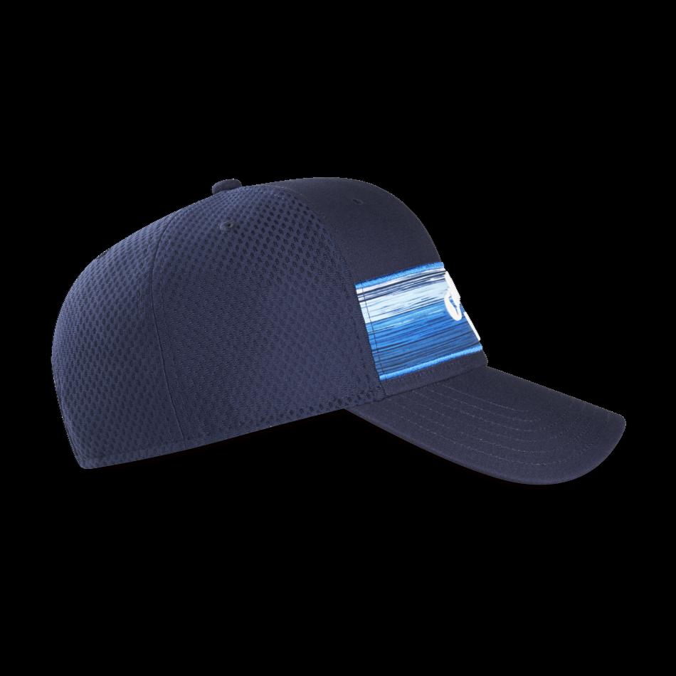 Stripe Mesh Adjustable Cap - View 4