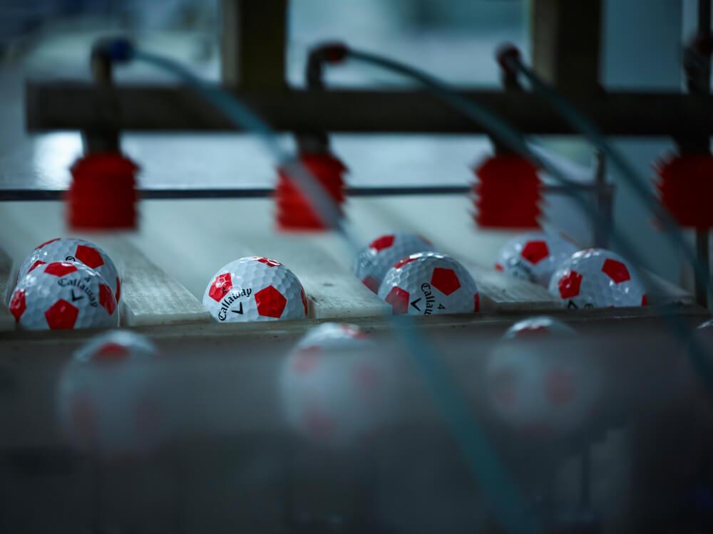 2018 Chrome Soft Truvis Red Golf Balls