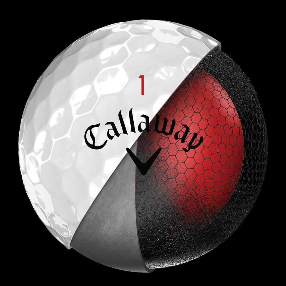 2018 Chrome Soft Golf Balls Technology Item