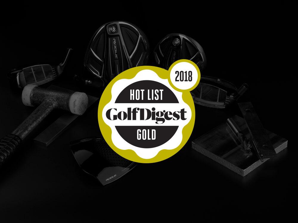 Callaway Rogue Sub Zero Fairway Wood 2018 Golf Digest Hot List Badge