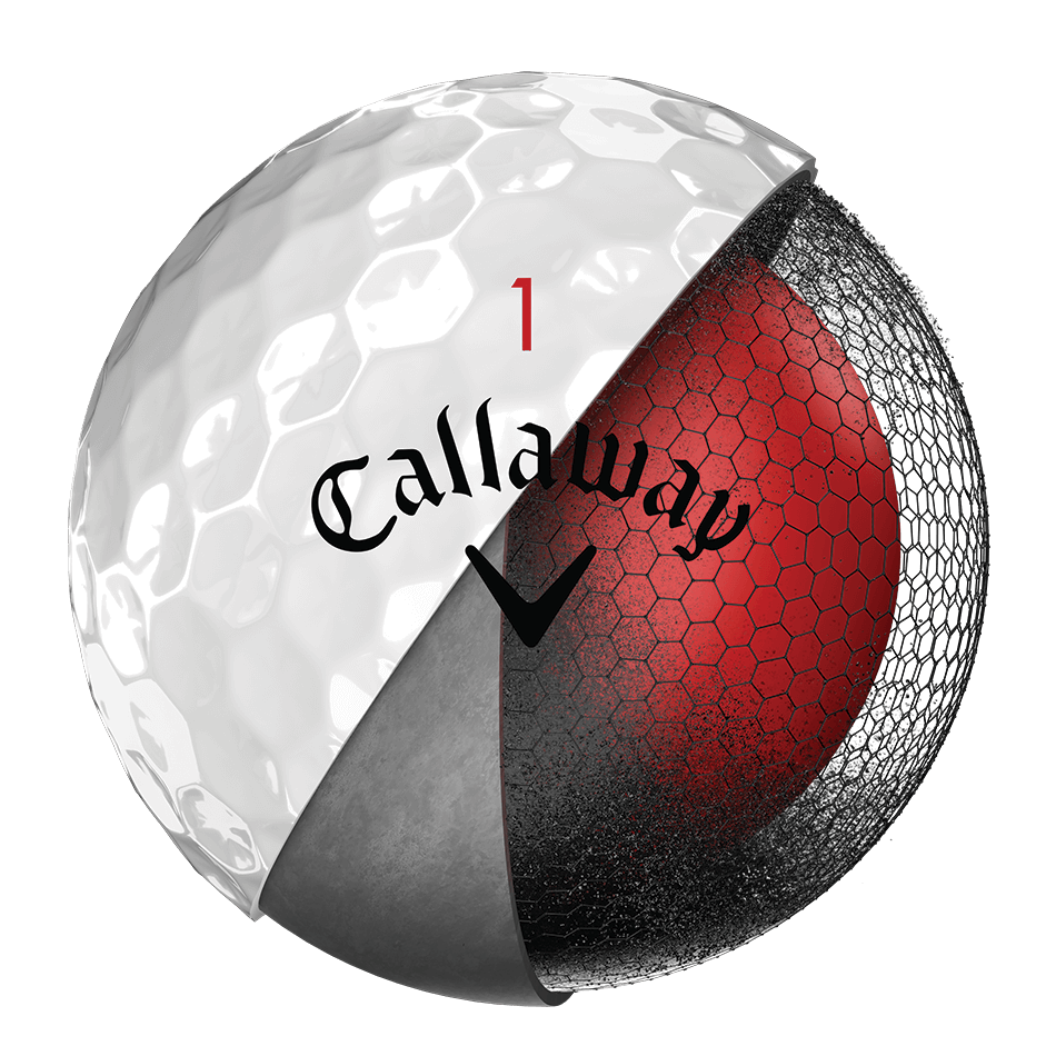 Chrome Soft Golf Balls Technology Item